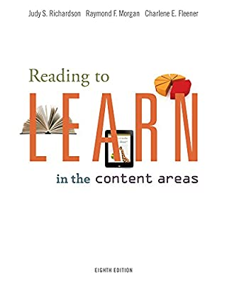 Education CourseMate (with eBook) for Richardson/Morgan/Fleener's Reading to Learn in the Content Areas, 8th Edition