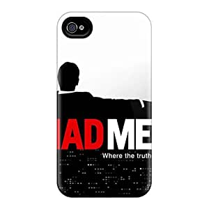 Durable Protector Case Cover With Mad Man Hot Design For Iphone 4/4s