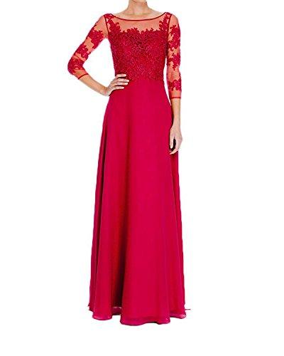 Vestido Topkleider mujer para Rojo trapecio B4wYf