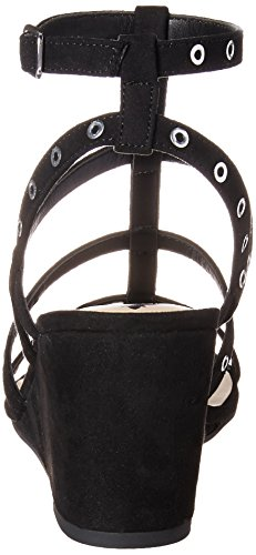 Empire Women's Fergalicious Black Wedge Sandal TA4qgw