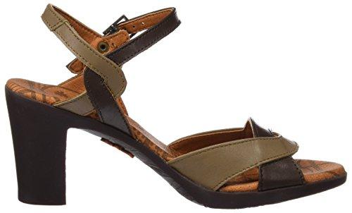 Ankle Women's Star Rio 0279 Brown Sandals Art Strap wdAX4qw