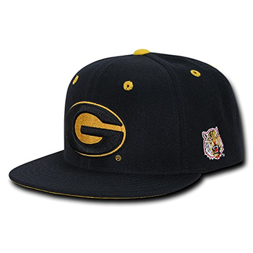 (University of Grambling State Gram Tigers NCAA Retro Flat Bill Officially Licensed Snapback Baseball Cap Hat)