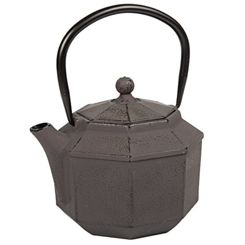 (Creative Home 73512 Kyusu Cast Iron Tea Pot, 34 oz,)