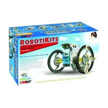 S.T.E.A.M. Line Toys Elenco Owi 14-in-1 Educational Solar Robot Kit