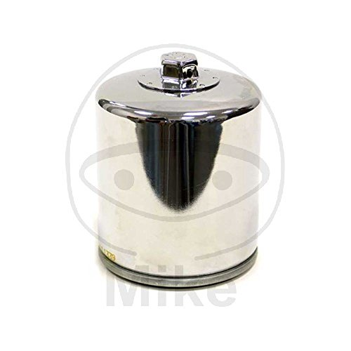 KN-174C K&N Performance Oil Filter; POWERSPORTS, CANISTER CHROME (Powersports Oil Filters):