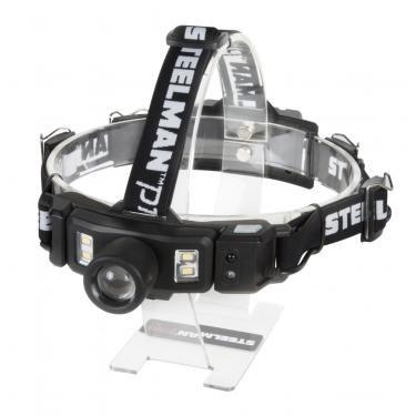 STEELMAN PRO 79235 260 Lumen Multi-Mode Focusing Rechargeable Li-ion LED Headlamp