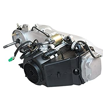 Largo Funda 150 cc GY6 ciclomotor scooter Motor Motor de arranque eléctrico de 150 CVT Auto tiempos Coolster TAOTAO Roketa Kazuma Redcat tanque: Amazon.es: ...