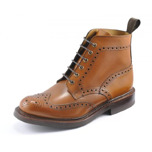 Loake Mens Bedale Tan Leather Boots 43 EU