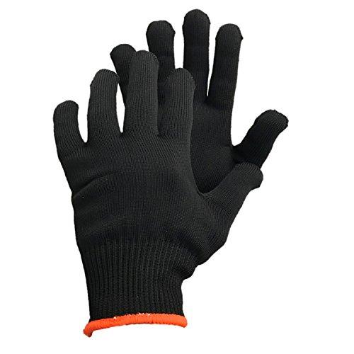 Glacier Glove Polypropylene Glove Liner, Black, Large/X-Large ()