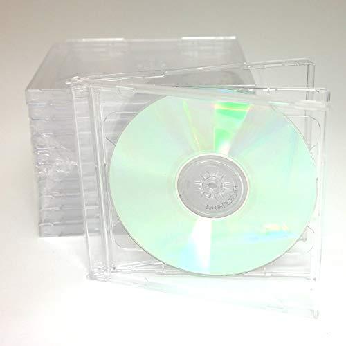 10 STANDARD Clear Double CD Jewel - 2 Jewel