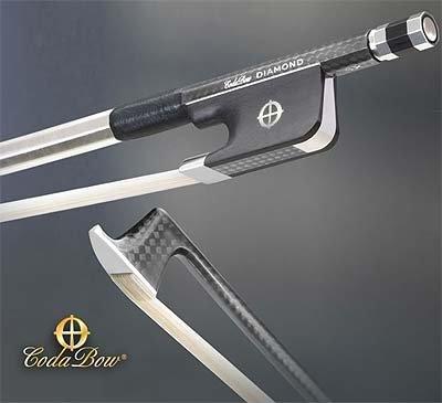CodaBow Diamond SX Carbon Fiber Viola Bow