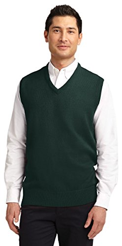 Port Authority Men's Value V-Neck Sweater Vest_Navy_X-Large