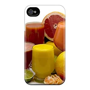 New Style Case Cover Fresh Fruit Juice Compatible With Iphone 4/4s Protection Case