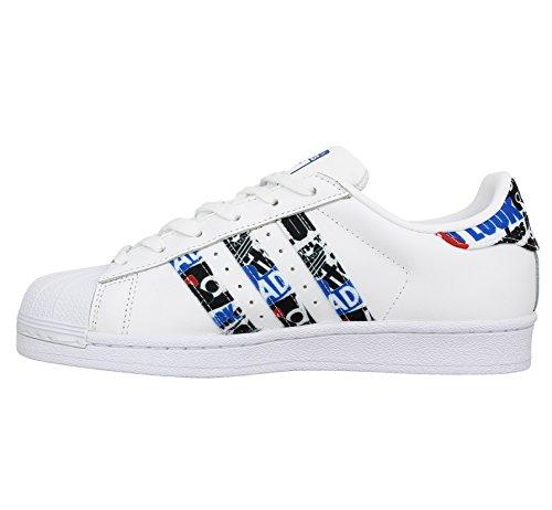 adidas Scarpe Superstar Corsa da Ftwbla Negbas Uomo Azul Bianco qzgq1pHx