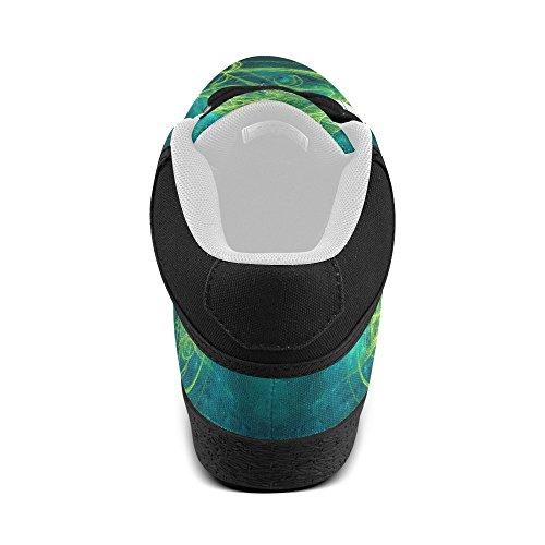 Artsadd Artsdd Custom Essence Verde Chukka Scarpe Di Tela Per Donna (model003)