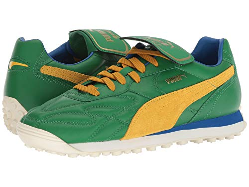 [PUMA(プーマ)] メンズランニングシューズ?スニーカー?靴 King Avanti (Legends Pack) Amazon Green/Spectra Yellow 11 (29cm) D - Medium