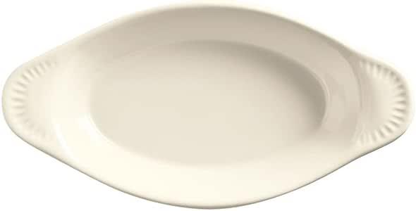 World Tableware OAG-12-WW 12 Oz. White Oval Welsh Rarebit - 24 / CS