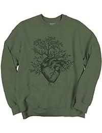 Sprouting Heart Shirt   Spirit Animal ZEN Garden Mystic Truth Sweatshirt
