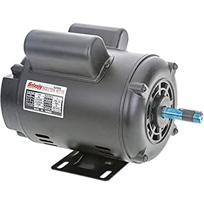 Grizzly Industrial G2905 - Motor 1 HP Single-Phase 1725 RPM Open 110V/220V
