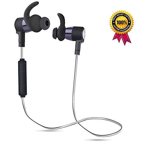 Stereo Earphone Mini V4 Bluetooth Headset(White) - 7