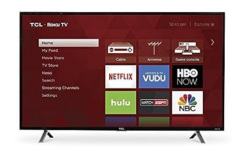 TCL 49S305 49-Inch 1080p Roku Smart LED TV (2017 Model) - 32 Class Lcd
