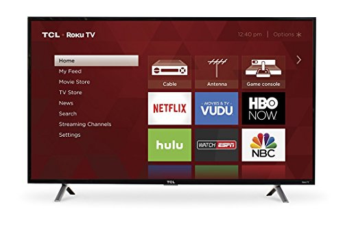 TCL 49-Inch Full HD 1080p 120Hz Roku Smart LED TV/3x HDMI  |