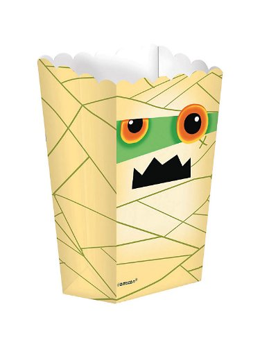 Boo Crew Halloween Popcorn Boxes Party Accessory