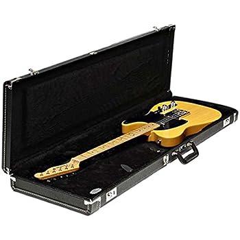 fender standard black case for strat tele right and left hand guitars musical. Black Bedroom Furniture Sets. Home Design Ideas