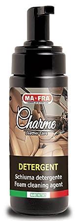 Schiuma detergente per sciogliere lo sporco ed eliminarlo dalla pelle auto 150 ml MA-FRA CHARME MA FRA