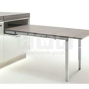 Häfele 642,19,925 Mesa extensible con superficie de 60 kg 900 mm