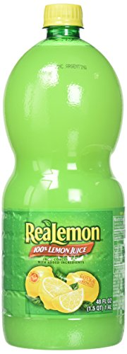 - Realemon 100% Lemon Juice, 48 oz