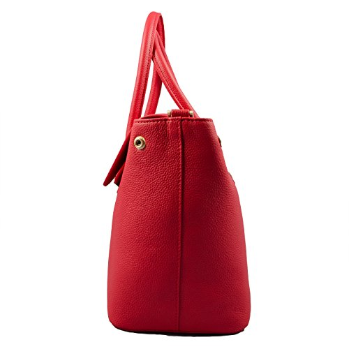 Mia Bag Due Manici 14670L-PE Emma Leather Rosso