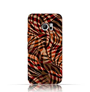 HTC M 10 TPU Silicone Case with Awesome seamless animal skin Pattern