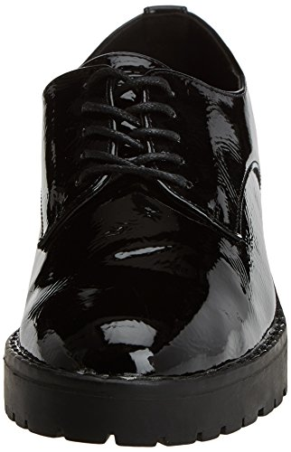 Oxford para Black XTI Mujer Zapatos Negro 047512 Cordones de 8XxawIqp