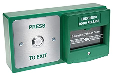 Amalocks Dbb 21 02 Double Back Box With Exit Button And Emergency