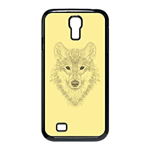 Samsung Galaxy S4 9500 Cell Phone Case Black Gaze of the Wolf CNW Plastic Phone Cases Protective