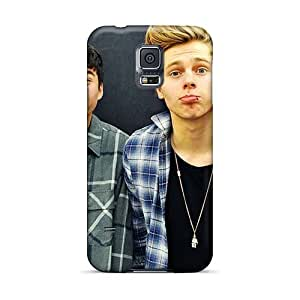 Excellent Hard Phone Cover For Samsung Galaxy S5 (Vsw19604xAWj) Provide Private Custom Lifelike Boys Like Girls Band Skin