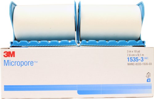 """3M Micropore Surgical Tape 3"""" x 10 Yards with Dispenser (..."""