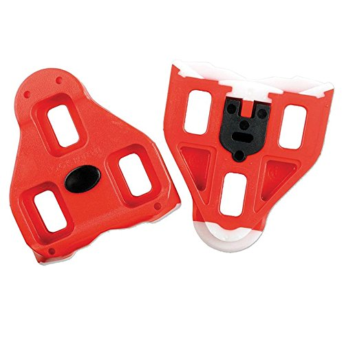 Red Look Delta Cleat With 9 Degree Float