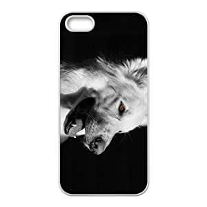 White Shepherd Hight Quality Plastic Case for Iphone 5s