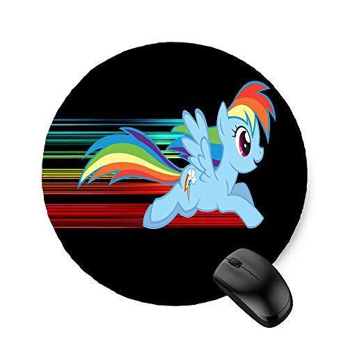 My Little Pony Rainbow Dash (Round) Mouse Pad 7.8