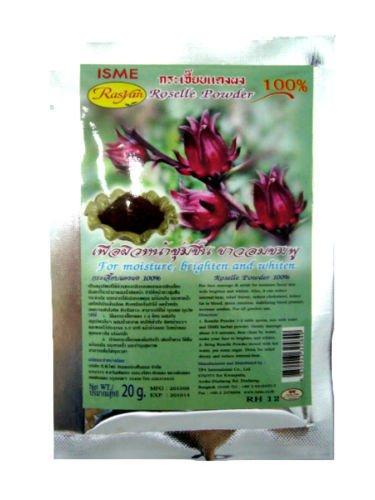 Isme Roselle Powder 100% Whitening Moisture Face Mask & Drink Reduce Cholesterol