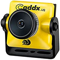 Caddx Turbo Micro S1 600 TVL CCD FPV Camera - NTSC - 2.1mm Lens - Yellow