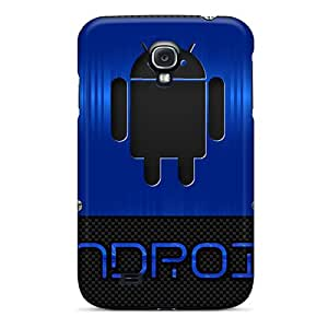 Galaxy Covers Cases - Android Blue Protective Cases Compatibel With Galaxy S4