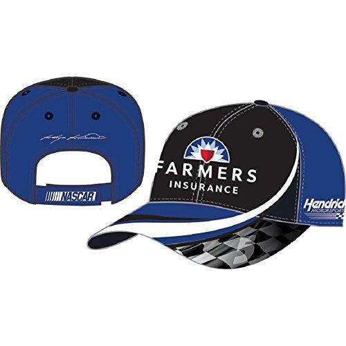 NASCAR Adult Drivers Salute Racing Hat / Cap-Kasey Kahne #5-Farmers - Kasey Kahne Cap