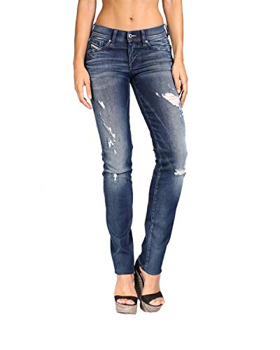 Jeans W25 Skinny Relaxed Diesel Blu 844m Francy Dona L30 Da Sd4dqwpF