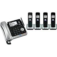 AT&T TL86109 + (3) TL86009 5 Handset Corded / Cordless (2 Line) DECT 6.0