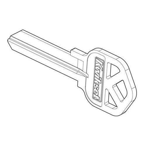 Kwikset 81208/21-87743N Keyblank - Nickel Plated (Kwikset Key Blank)