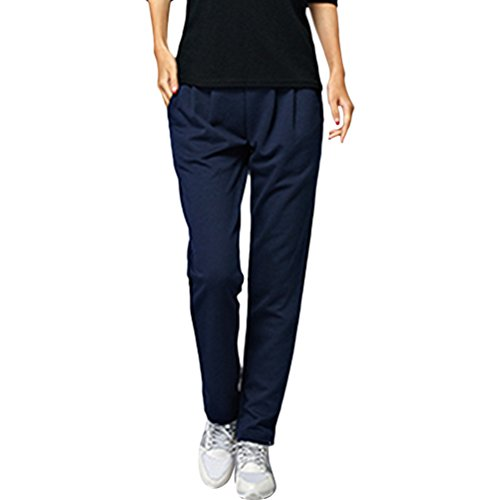 Zhhlaixing 4 Color Fashion Plus Size Loose Sport Pants Womens Comfortable Fitness Trousers Blue