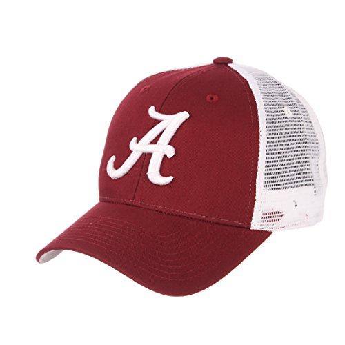 ZHATS NCAA Alabama Crimson Tide Big Rig Trucker Mesh Adjustable Hat/Cap